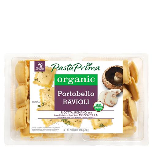 Organic Portobello Ravioli ClubSize
