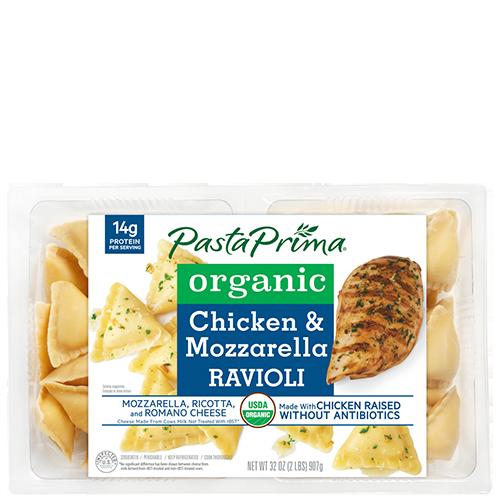 Organic Chicken & Mozzarella Ravioli ClubSize