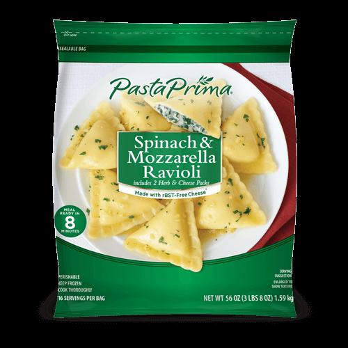 Spinach & Mozzarella Ravioli ClubSize